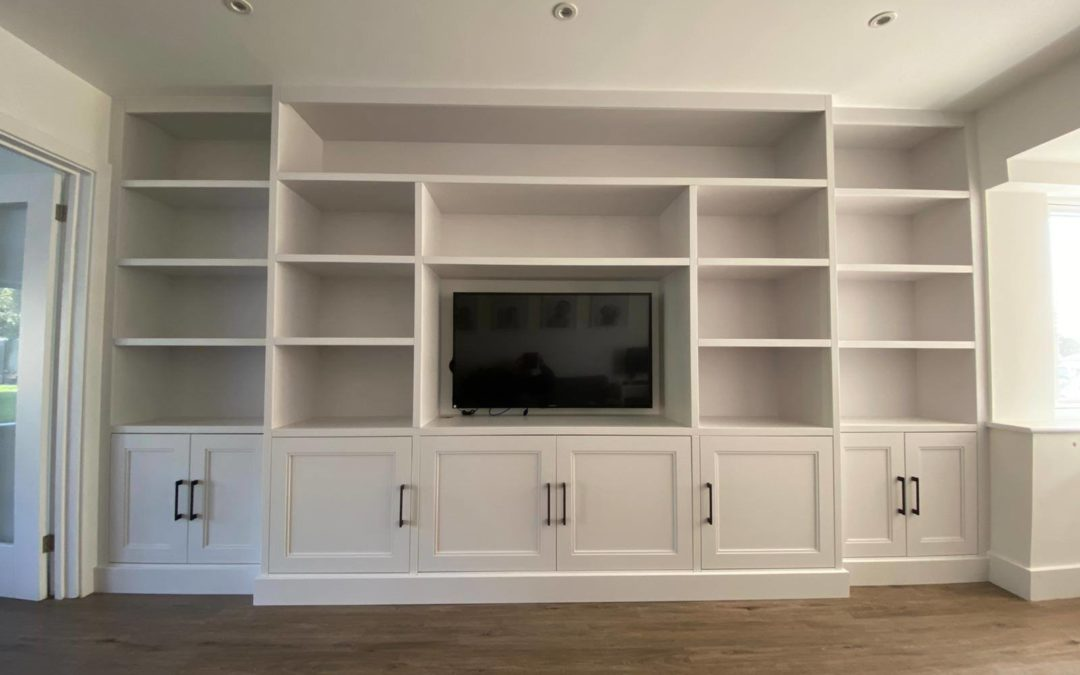 Ice White Bespoke Media Unit